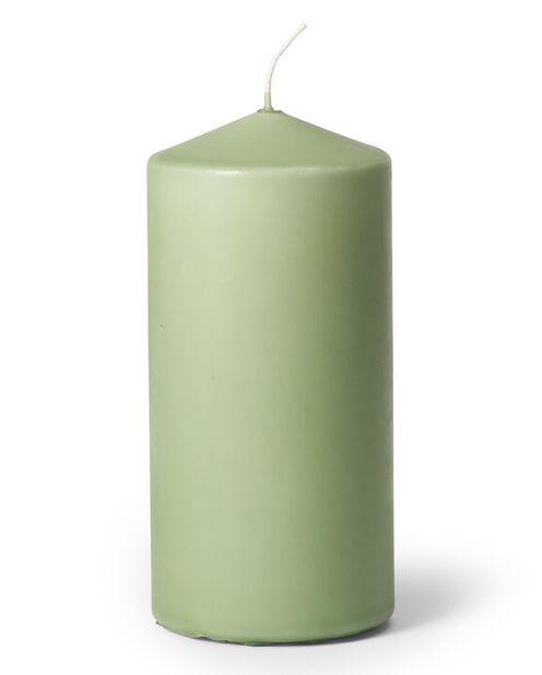 Pöytäkynttilä, Korkeus 14 cm, Vihreä