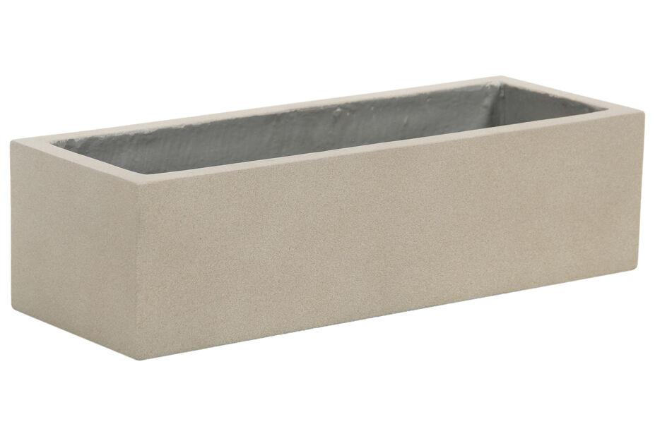 Istutuslaatikko Nova 84 cm hiekka, Pituus 84 cm, Beige