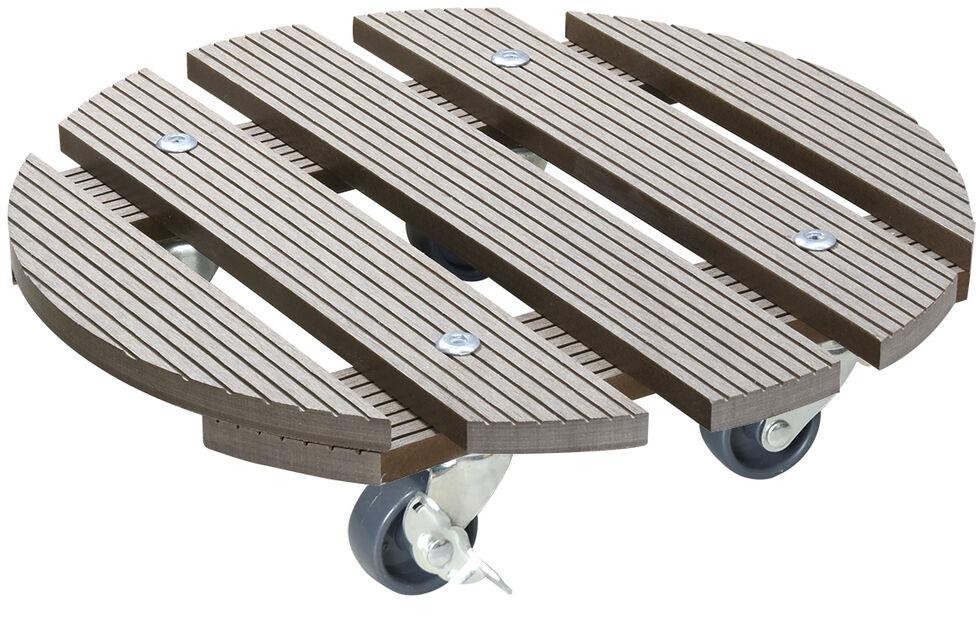Ruukunalusta Multi Roller, Ø29 cm, Ruskea