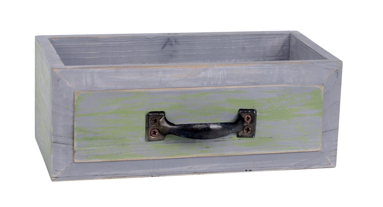 Puulaatikko, Pituus 20 cm, Ruskea