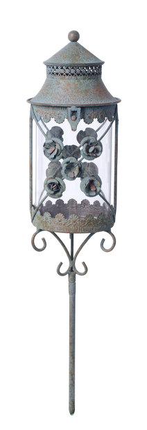 Hautalyhty Fiore, Korkeus 52 cm, Vihreä