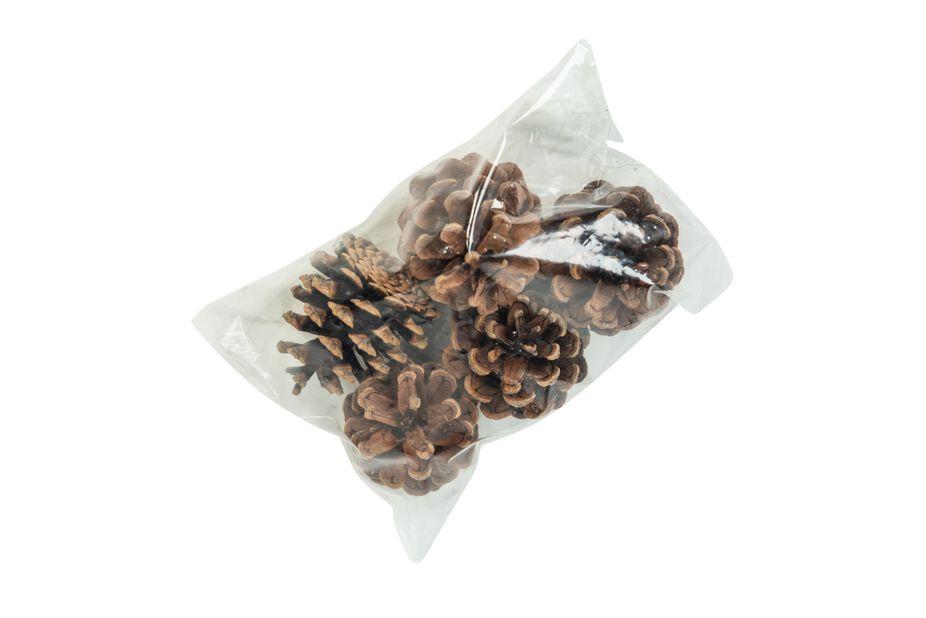 Pyöreät kävyt, 250 g, Ruskea