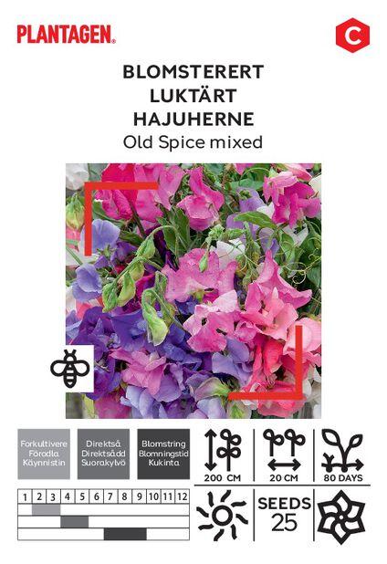 Hajuherne-Old Spice Mixed, Monivärinen