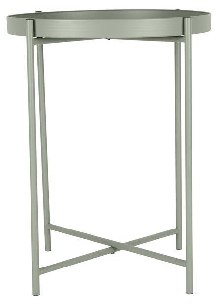 Sivupöytä Loke, Ø38 cm, Vihreä