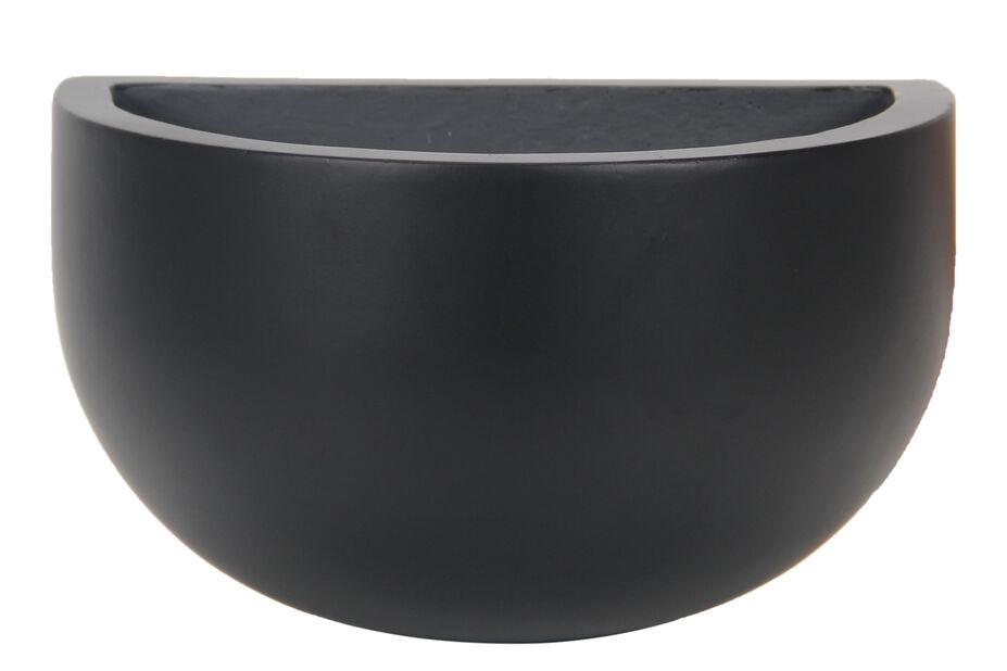 Seinäruukku Nova , Ø30 cm, Musta