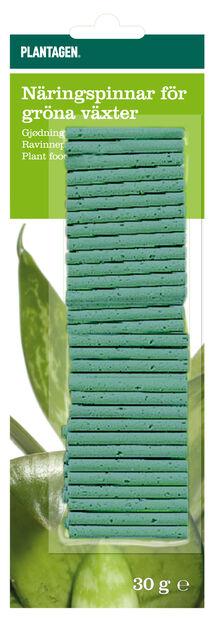 Ravinnepuikko viherkasveille, 30 kpl, Vihreä