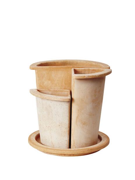 Ruukku Olea 1/4 19cm, terracotta