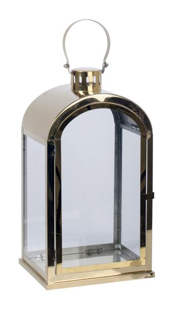 Lyhty Stina, Korkeus 45 cm, Kulta