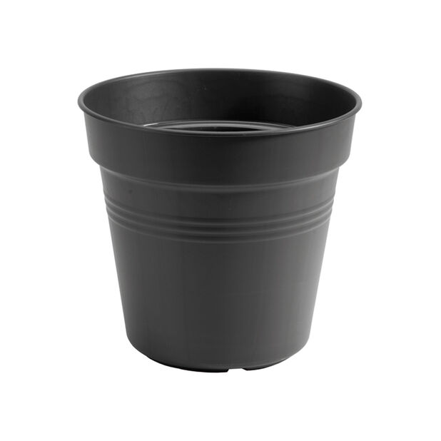 Istutusruukku Green Basics, Ø17 cm, Musta