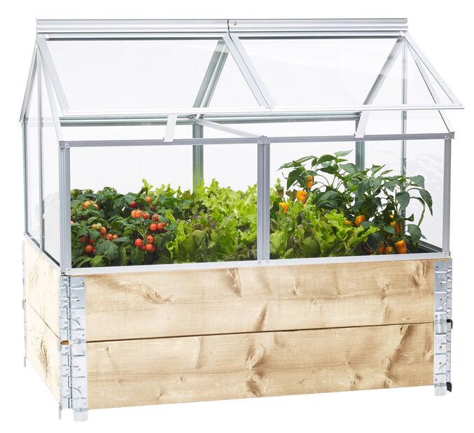 Kasvihuone Gaia istutuslaatikolle