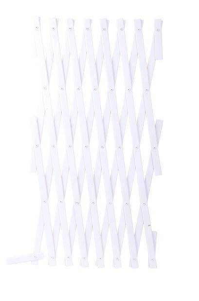 Muovisäleikkö, Korkeus 180 cm, Valkoinen
