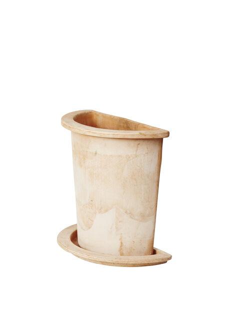 Ruukku Olea puolikas, Korkeus 35 cm, Terrakotta