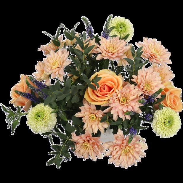 Äitienpäiväkimppu L, Korkeus 45 cm, Useita värejä