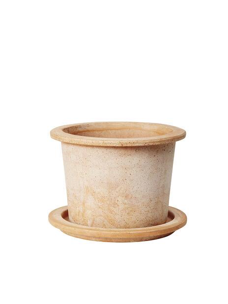 Ruukku Olea, pöyreä 38 cm, terracotta