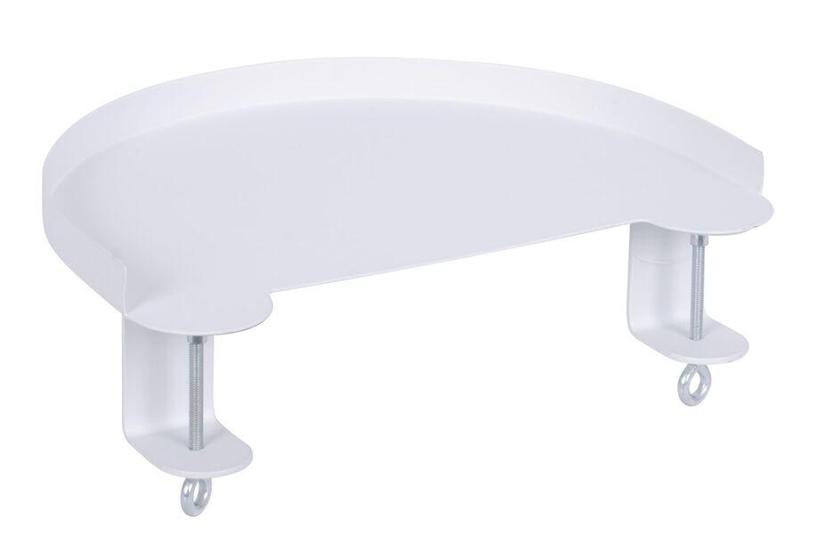 Kiinnitettävä taso Dalia, Pituus 30 cm, Valkoinen