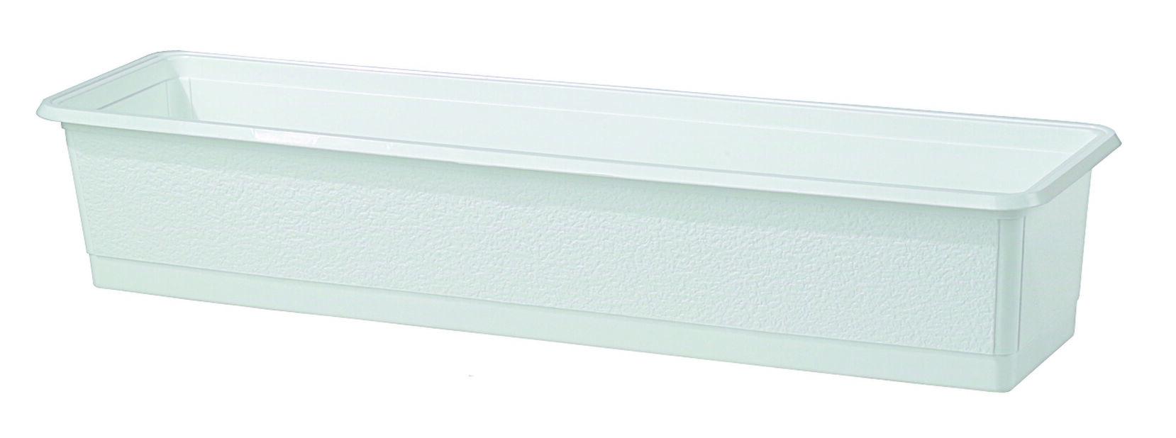 Parvekelaatikko , Pituus 70 cm, Valkoinen