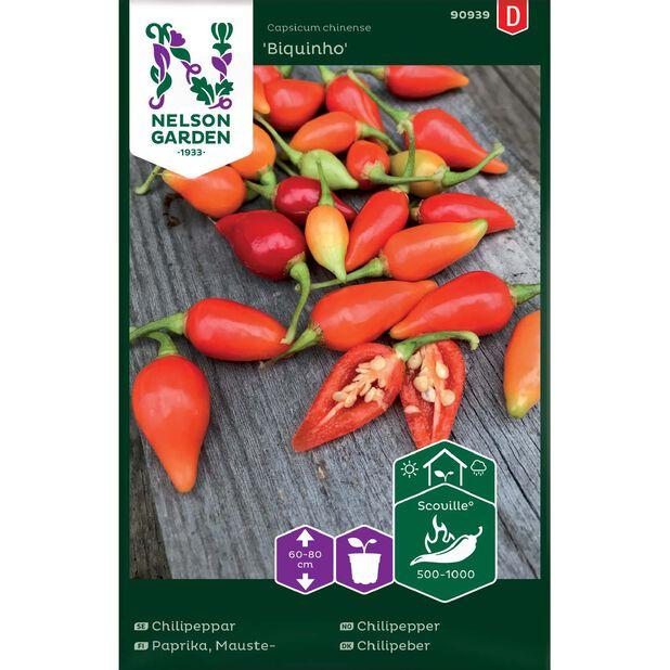 Chilipaprika 'Padron', Monivärinen