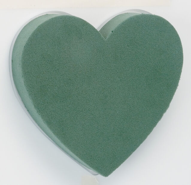 Kukkasieni Oasis sydän, Ø18 cm, Vihreä