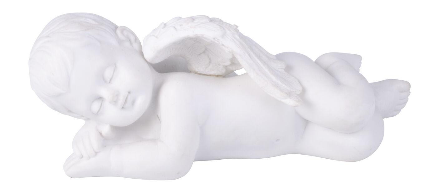 Makaava enkeli, Pituus 15 cm, Valkoinen