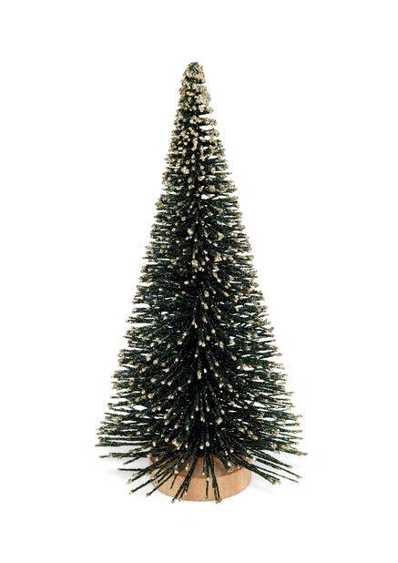 Kimallejoulukuusi, Korkeus 23 cm, Vihreä