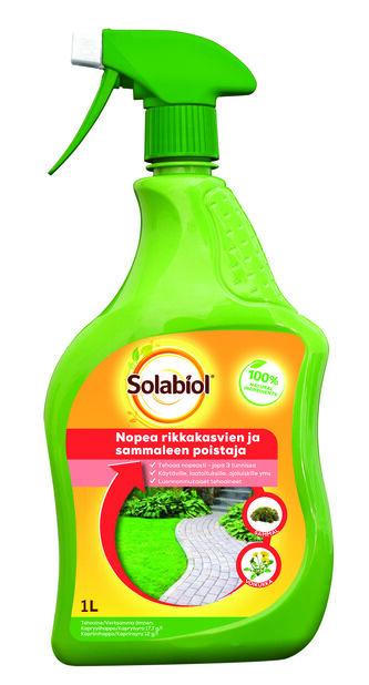 Rikkakasvihävite Solabiol, 1 L