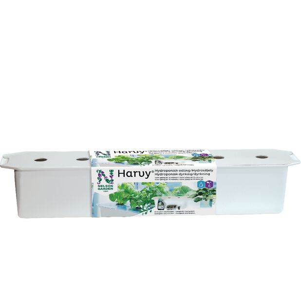 Harvy-aloituspaketti vesiviljelyyn, Pituus 79 cm, Valkoinen
