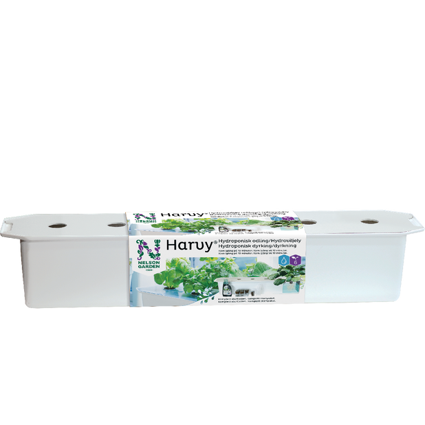 Harvy vesiviljelypakkaus valk, Pituus 79 cm, Valkoinen