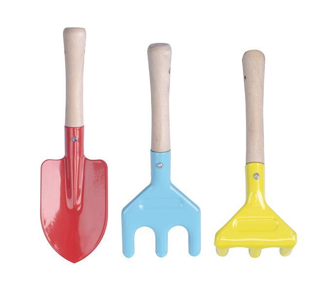 Lasten puutarhatyökalut, Useita värejä
