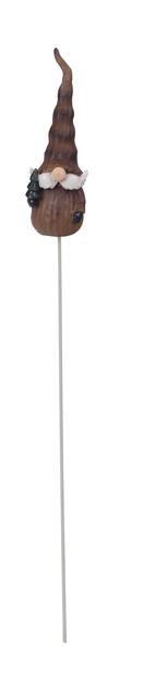 Tonttu-koristetikku, Korkeus 25 cm, Punainen