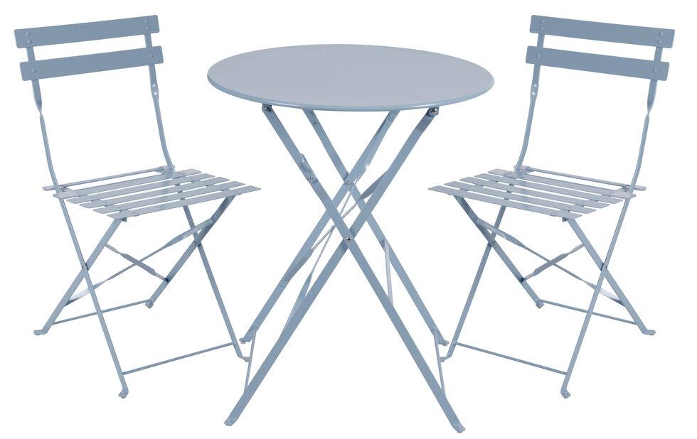 Café-ryhmä Molly, 2 istumapaikkaa, Sininen