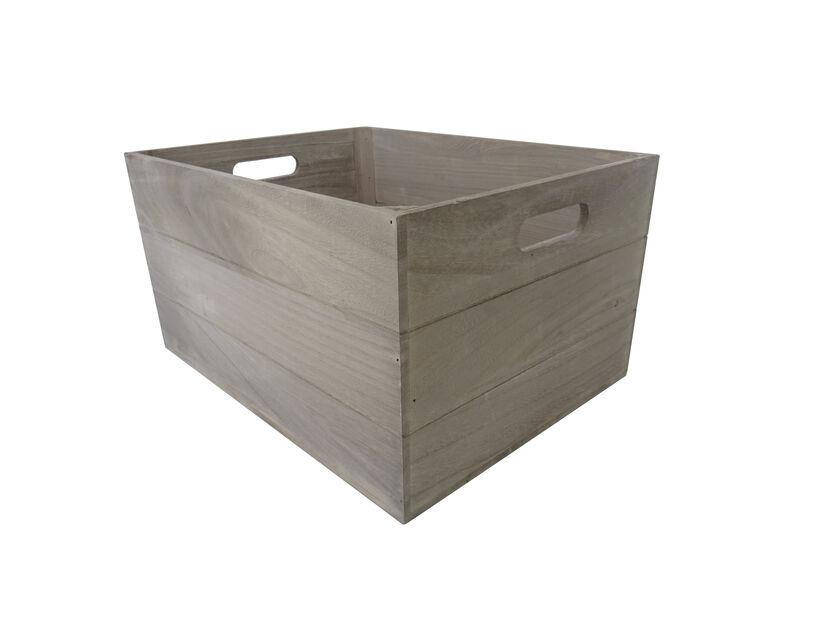 Säilytyslaatikko, Pituus 38 cm, Harmaa