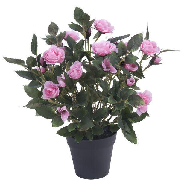 Ruusu tekokasvi, Korkeus 30 cm, Pinkki