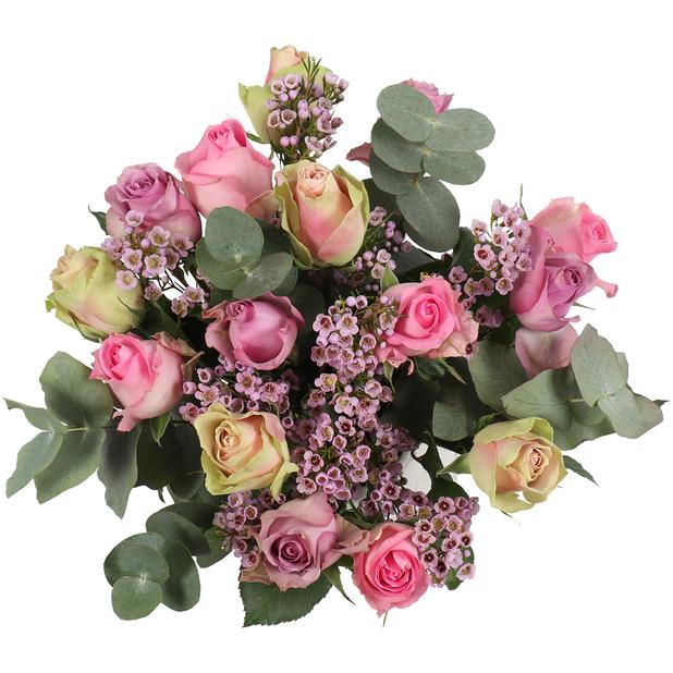 Kimppu 'Sweet roses', Korkeus 50 cm, Punainen