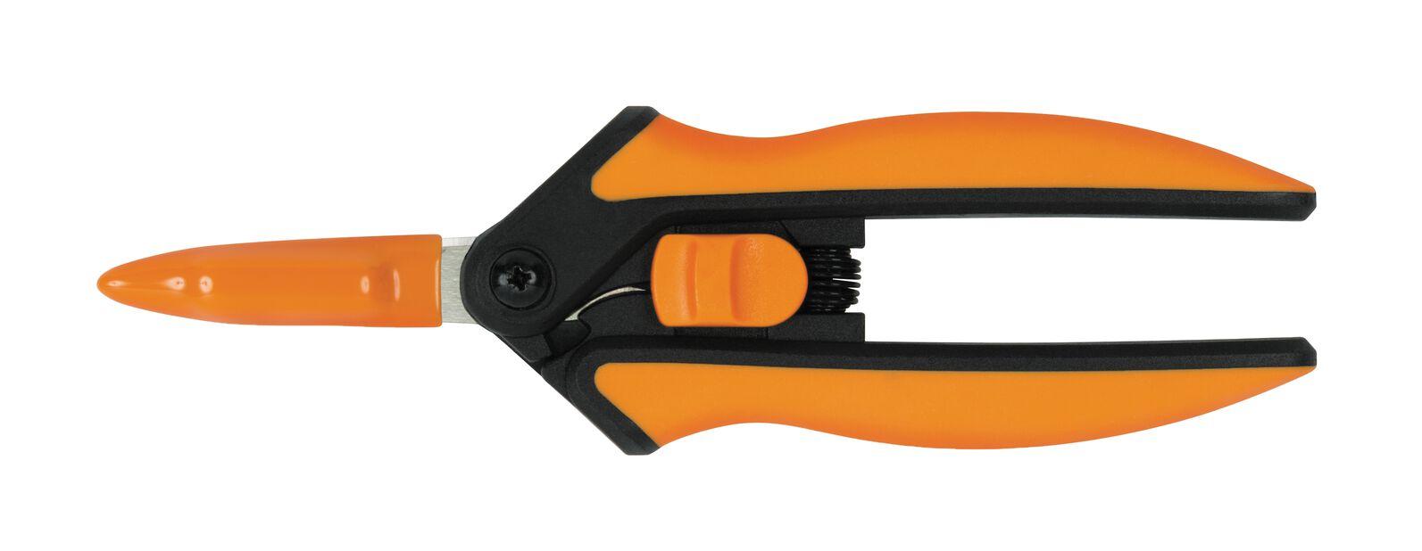 Solid Snip microtip sakset SP13 Fiskars, Pituus 24 cm, Oranssi