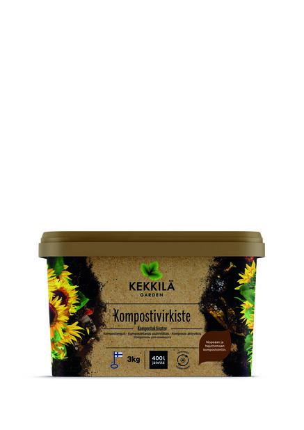 Kompostivirkiste, 3 kg