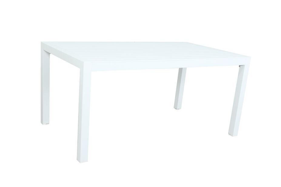 Pöytä Dover, Pituus 160 cm, Valkoinen