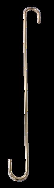 S ripustin, Pituus 40 cm, Messinki