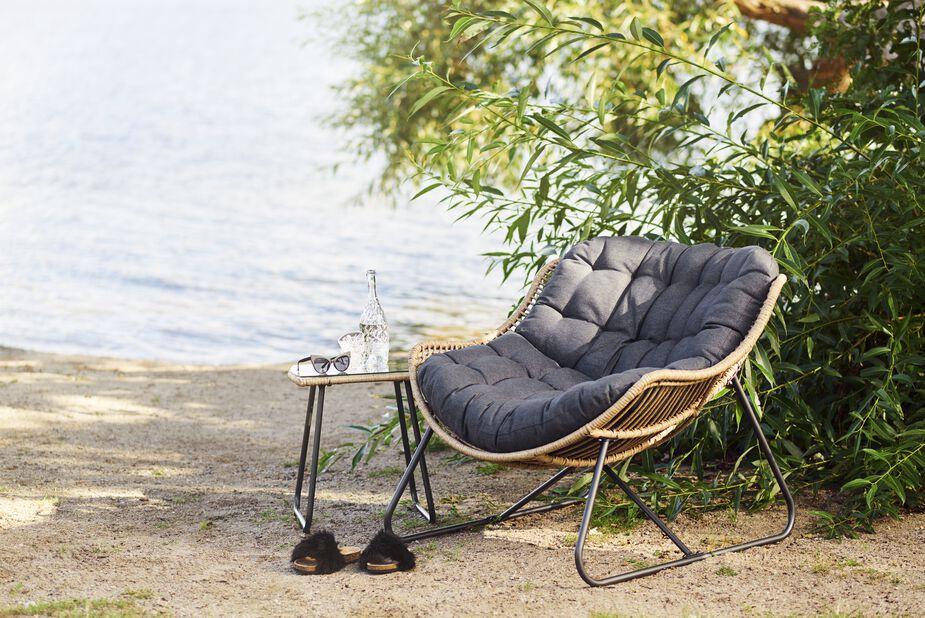 Nojatuoli Melbourne, Leveys 110 cm, Puunvärinen