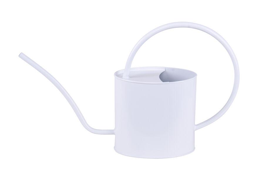 Kastelukannu ovaali , 2 L, Valkoinen