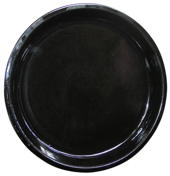 Aluslautanen Milou, Ø25 cm, Musta