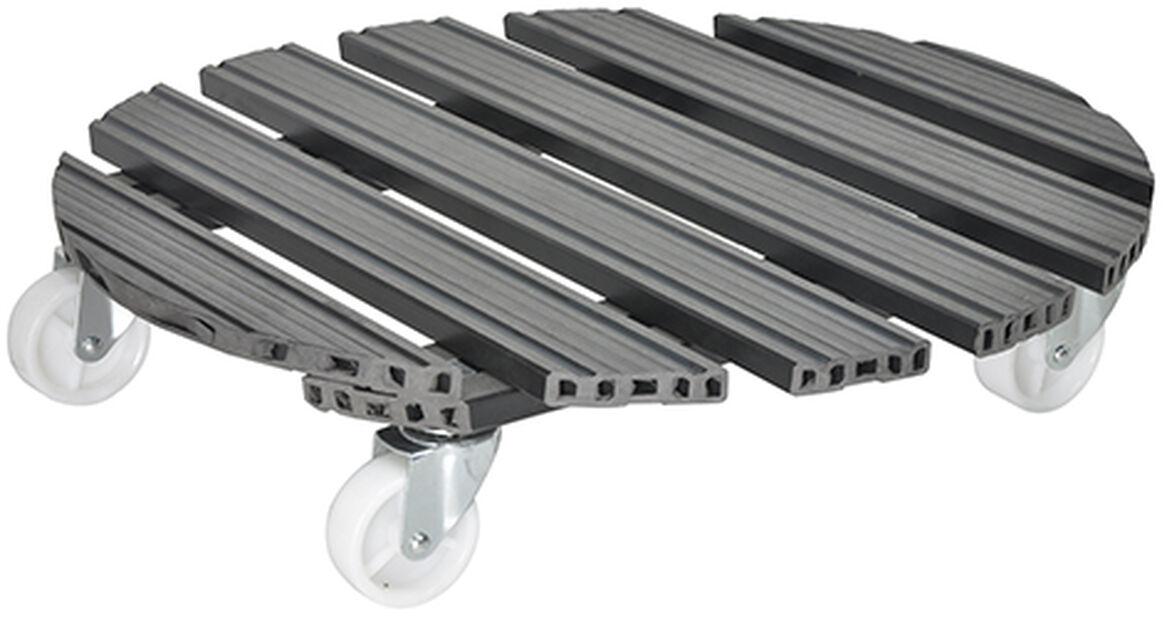 Ruukunalusta Multi Roller, Ø50 cm, Harmaa