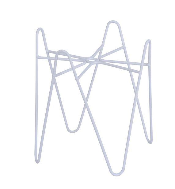Jalusta Wilmer, Korkeus 20 cm, Valkoinen