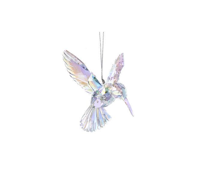 Joulukoriste kolibri, Korkeus 17.5 cm, Luonnonvalkoinen