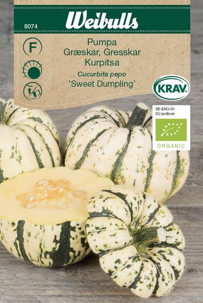 Kurpitsa 'Sweet Dumpling' Luomu