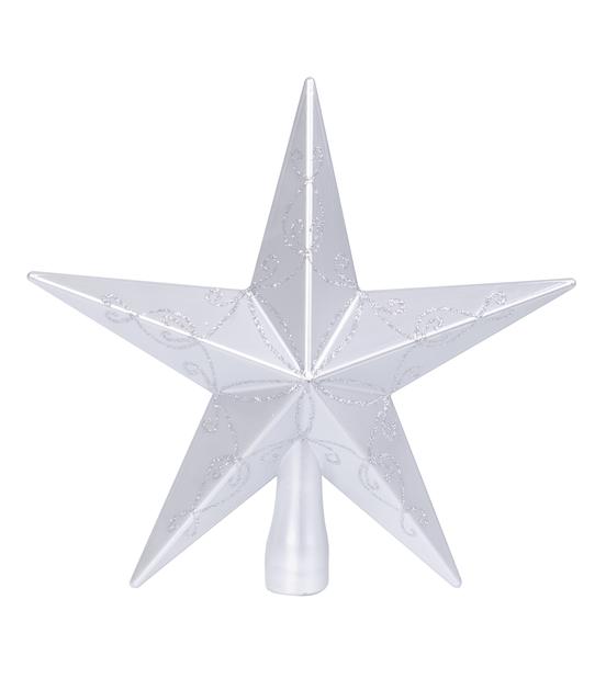 Latvatähti Gina, Korkeus 20 cm, Hopea