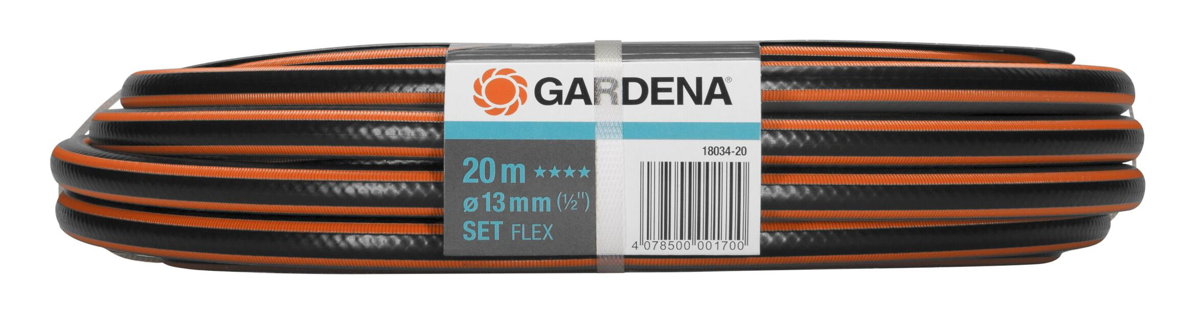 Letku Flex 13Mm 20M + Liitin Gardena, 20 ml