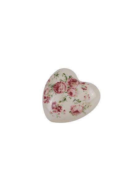 Koristesydän Ingrid, Korkeus 4.5 cm, Pinkki