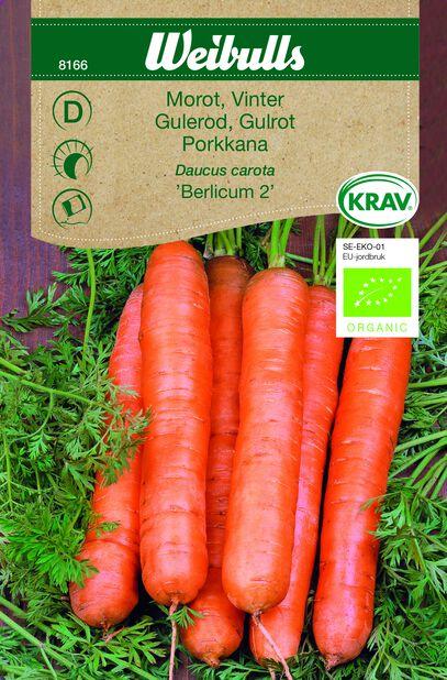 Porkkana 'Berlikum 2' Luomu
