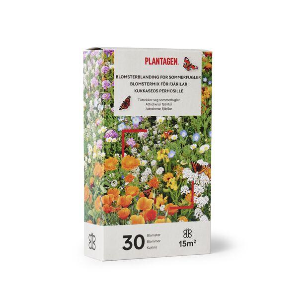 Kukkaseos perhosille, 15 m2, Monivärinen