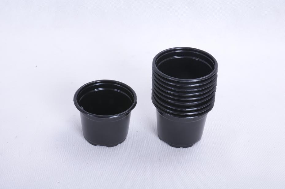 Istutusruukku , Ø9.5 cm, Musta